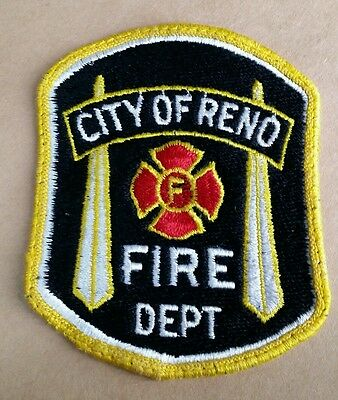 City Of Reno, Nevada Fire Department Patch
