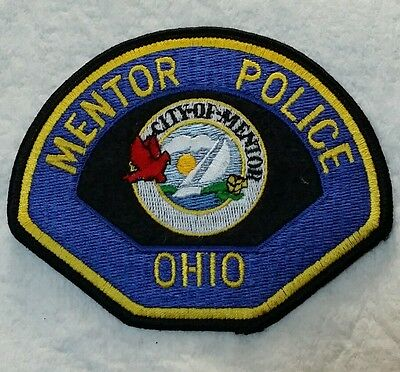 City Of Mentor, Ohio Police Shoulder Patch Oh