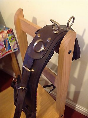 New Single Horse Leather Driving Harness Size-Cob