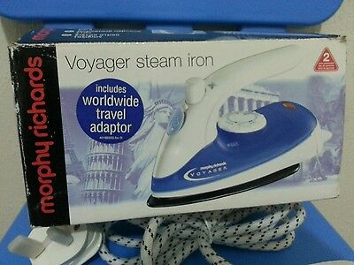 Morphy Richard Voyager Steam  Iron ***new With Box***