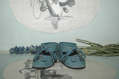 """Beautiful leather shoes for Jumeau Bru Steiner  doll 2 - 5/8"""" (66 mm)"""