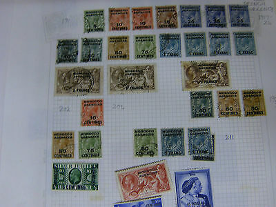 Morocco Agencies Early To Mid Period Stamps .