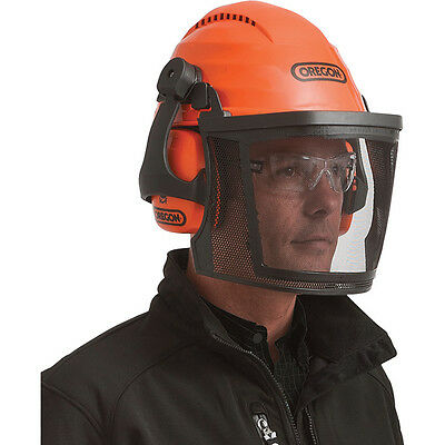 Oregon Professional Chainsaw Safety Helmet Combo With Earmuffs 564101