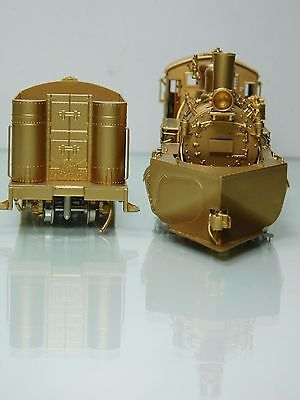 "WESTSIDE MODEL CO Brass Hon3 Rio Grande Southern RGS #455 2-8-2 K27 ""Post Wreck"""