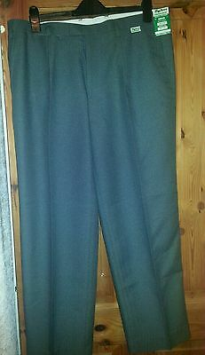 Botra mens bowls trousers 38 waist 29 inside leg grey BNWT