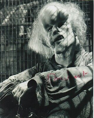 John Hurt The Elephant Man Signed 10-8 Photo