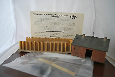 S/Sn3 Scale PBL Craftsman Kit  Chama Sand House Facility New Mexico Part built