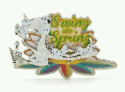 Disney 101 Dalmatians Swing Into Spring Limited Edition of 600 Pin