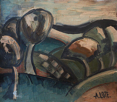 Andre Lhote  (French) Sign Oil painting; Art from Europe; Cubism