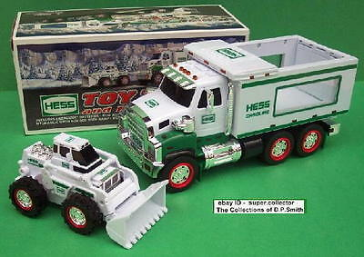 2008 Hess Toy Truck and Front Loader Mint in Mint Box