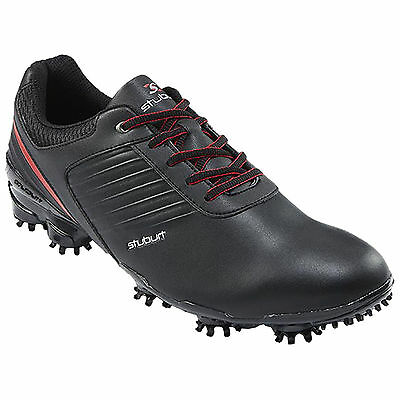 Stuburt 2016 Sport Tech Golf Shoes in Black/Red Uk Size 11 Brand New Boxed