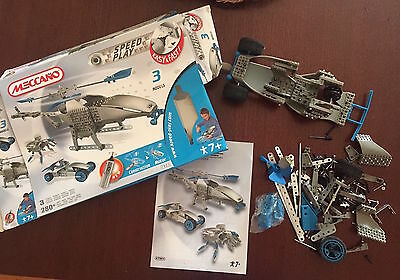 MECCANO PIECES from Speed Play set - 7901