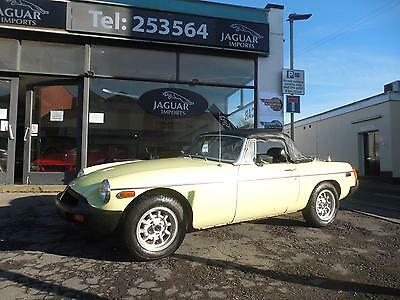 Mgb Roadster 1976 Left Hand Drive