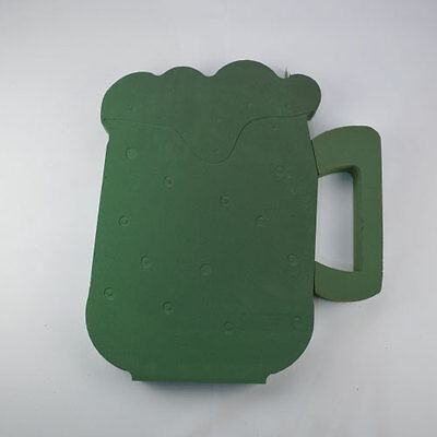 Floral Foam Beer Mug Funeral Memorial Tribute Floristry Oasis Type Sku 2412