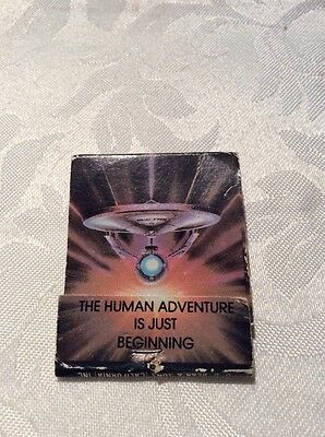 Star Trek Matchbook - The Motion Picture ....old And Unused