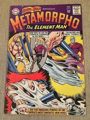 The Brave And The Bold #57 1st Metamorpho