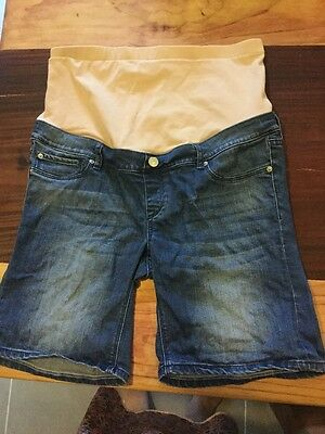 maternity shorts size 12 Jeans West VERY COMFY