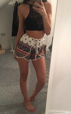 Floral Shorts XS