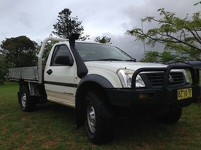 2006 4x4 RA Holden Rodeo Ute - No reserve