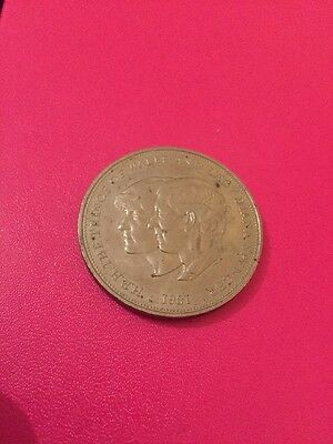 H.R.H. The Prince of Wales and Lady Diana Spencer Coin (1981)