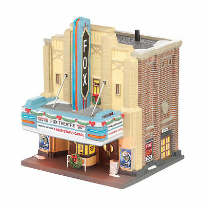 """Department 56 Christmas in the City """"THE FOX THEATRE"""" - NIB FREE SHIPPING"""