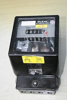 Electricity meter, single phase
