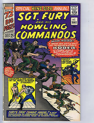 SGT.Fury King Size Annual #1 Marvel 1965