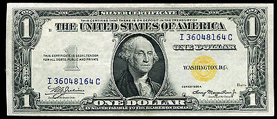 """Fr. 2306 1935-A $1 One Dollar """"North Africa"""" Silver Certificate About Unc"""
