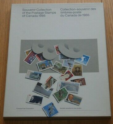 Weeda Canada VF 1986 Annual Collection #29, Complete booklet in box. CV $45