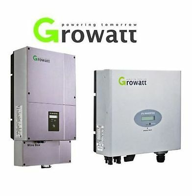 NEW Growatt Grid Tie Single MPPT Inverters - 1000w/1500w/2000w/2500w/3000w