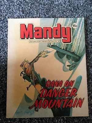 MANDY PICTURE STORY LIBRARY BOOK - from the 1980's  - NUMBER 48 - COLLECTIBLE