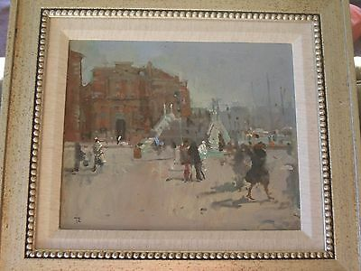 Tom Coates RWS NEAC Signed Oil Painting Of Venice