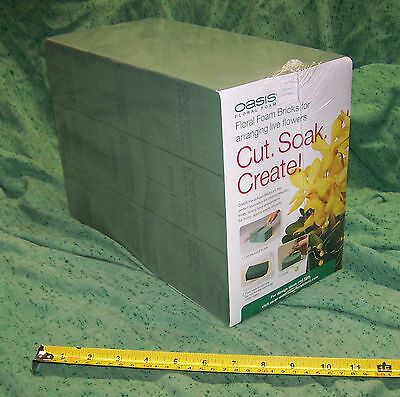 6 Bricks Smithers Oasis Case Max-Life Floral Foam Wedding Event Fresh Flowers