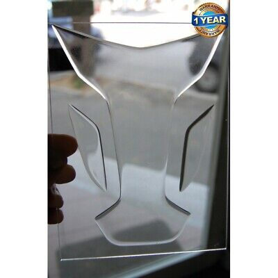"Paraserbatoio resinato TRASPARENTE CLEAR TRANSPARENT TANK PAD ""WINGS"""