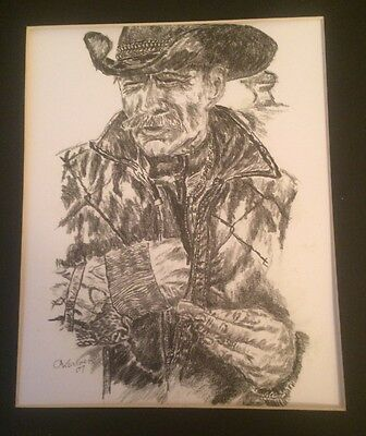 """Limited Edition Print of """"The Cowboy"""""""