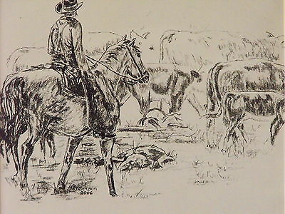 """Limited Edition Print of """"On The Ranch"""""""