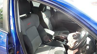 Mazda 3 Bk Mps Interior Leather Comes With Front And Rear Seats