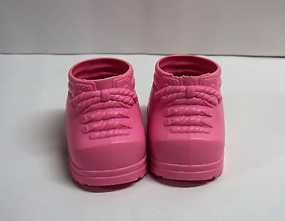 Cabbage Patch Kids CPK Doll Girl High Top Boots Pink Western Booties Shoes