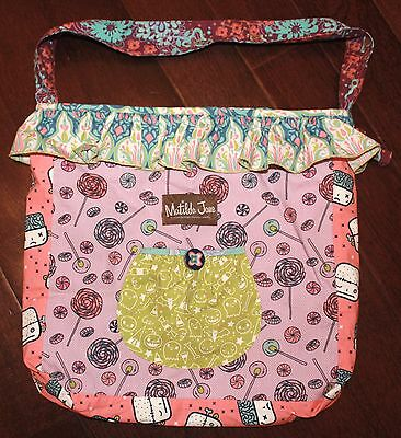 NEW MATILDA JANE Girls Purple Candy Bag STYLE # F16211 RETAIL $75+ SOLD OUT