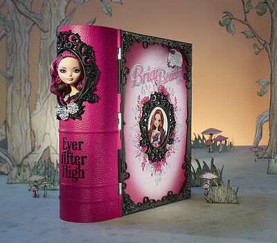 Ever After High Briar Beauty Thronecoming Playset BNIB book bed table chair