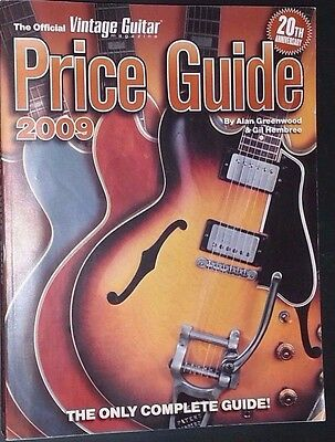 COLLECTIBLE GUITAR PRICE GUIDE COLLECTOR'S BOOK Maestro Gibson Fender Marshall