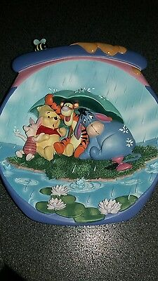 Winnie the pooh wall placque