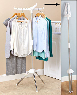 Foldable Clothes Portable Laundry Storage Drying Rack Dryer Hanger Stand Hang