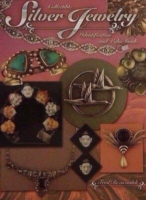 STERLING SILVER JEWELRY VALUE GUIDE COLLECTORS BOOK Tiffany Uncas Zuni ++
