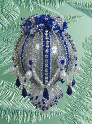 beaded Christmas ornament instructions
