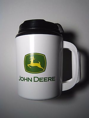 John Deere Thermo-Serv Jumbo Coffee Drink Thermos Extra Large Tractor Cup Mug 36