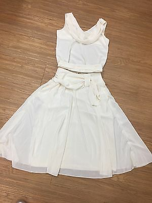 Vintage 2pc wedding/formal outfit size 12
