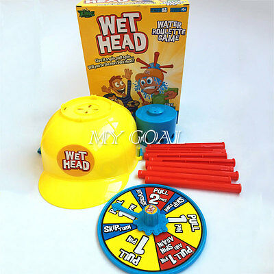 Wet Head Water Roulette Game KIDS Friends Family Toy Play Challenge Family Time