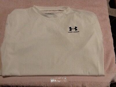 Men's Under Armour Long Sleeve Compression Shirt, Heat Gear, Size XXL