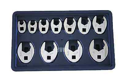GearWrench 89118 SAE CROWSFEET - 11 Piece Set Ratcheting Crowsfeet KDT89118